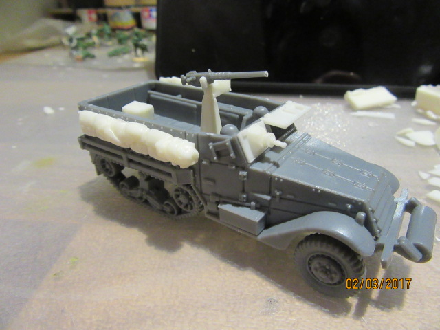 1/72 IDF Infantry Halftrack conversion
